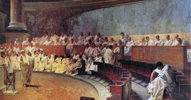 Quadro senatori romani
