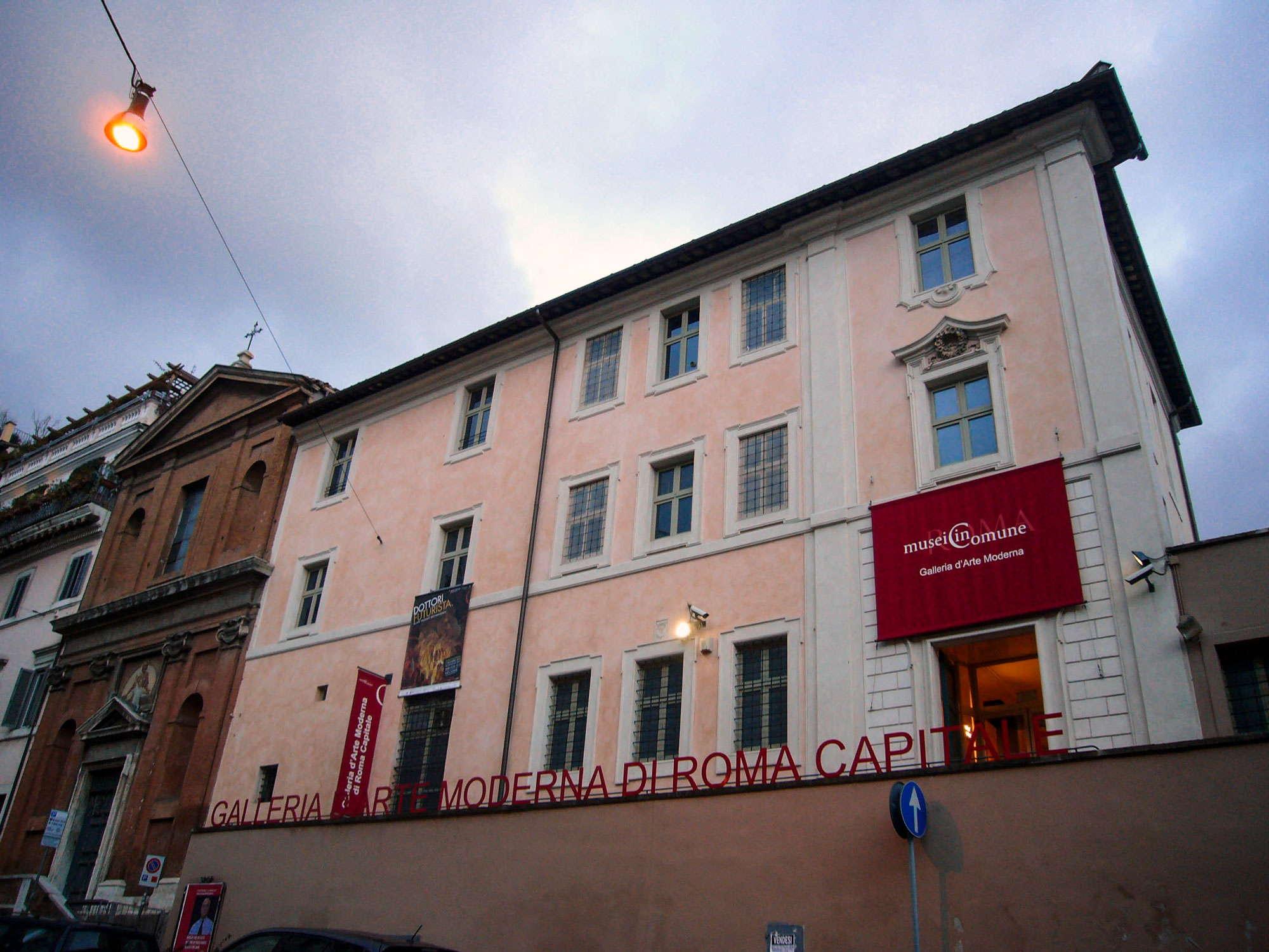 Galleria d'arte moderna comunale Roma