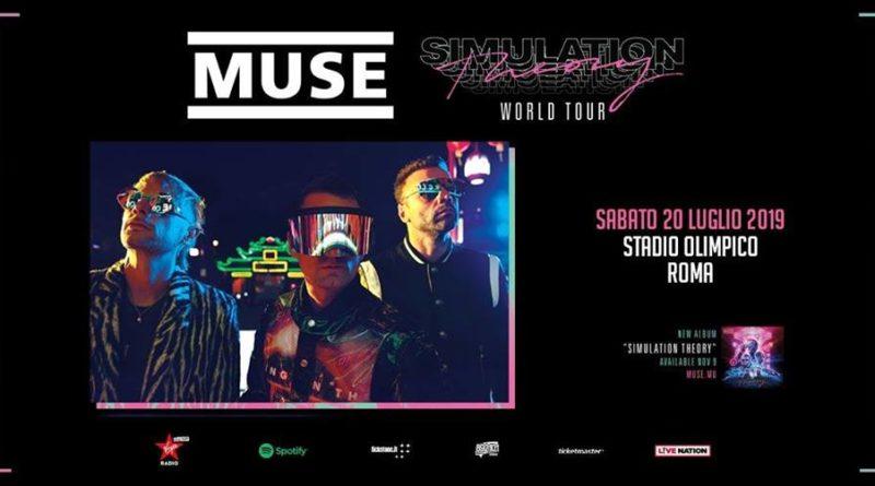 Concerto Muse Roma Stadio Olimpico Luglio 2019